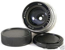 JUPITER-8 50mm f/2 Lens M39 LTM RF USSR Leica Screw Mount L39 VM FX M4/3 Mount