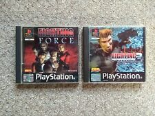 Fighting Force 1 & 2 for Sony Playstation 1 PS1 PS2 PS3 - PAL European Version