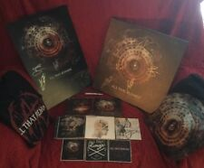 All The Remains Lot Canvas Art Shirts Cds Poster USB drive Stickers Signed