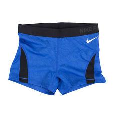 NIKE PRO Damen 725445 Hypercool Palm Trainingstight Royal Blau / L / Shorts