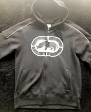 Ecko Hoodie Size M Graphic Design black and white