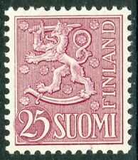 Flags, National Emblems Finnish Stamps