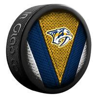 Nashville Predators NHL Team Logo Stitch Souvenir Hockey Puck