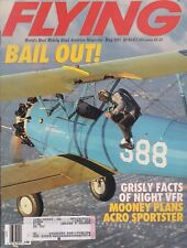 Flying Magazine (May  1991) (Bail-Out, Stalls, Thunder & Colt GA-42 Blimp)