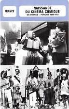 FICHE CINEMA : NAISSANCE DU CINEMA COMIQUE EN FRANCE 1895-1912 - Rigadi,Onésime
