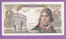 ( Ref: Y.136) 10000 FRANCS BONAPARTE 2/10/1958 (SPL+) TRES RARE