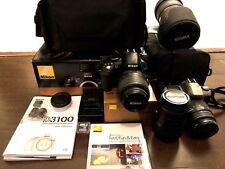 Nikon D3100 Bundle: SIGMA 50-500mm F/4-6.3 EX DG HSM Telephoto Zoom Lens + MORE