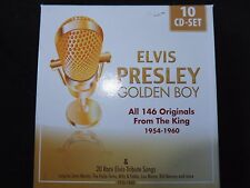 COFFRET 10 CD ELVIS PRESLEY / GOLDEN BOY /