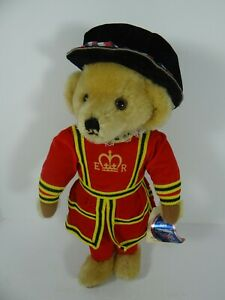 """Merrythought England Mohair Beefeater Guard Teddy Bear Plush 18"""" with Tags"""