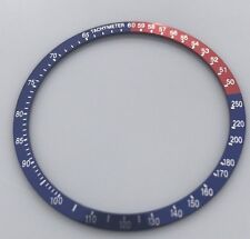 Seiko 6139-6002 6000 6005 6007 6009, Yellow Chrono PEPSI Bezel Blue/red Insert