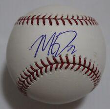 Matt Davidson Single Signed Baseball Autographed Ball Signature
