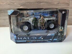 HALO 4 2012 Die-cast Vehicle UNSC Warthog Master Chief Marine Arctic Edition