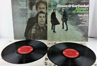 Simon and Garfunkel LPs Sounds of Silence & Bridge Over Troubled Waters