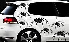 9x Spider arañas auto pegatinas páginas pegatinas Spiderman tuning tribal tatuaje