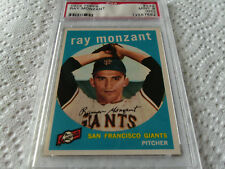 1959  TOPPS  RAY  MONZANT   # 332   PSA  9   MINT  O/C   S.F. GIANTS   BASEBALL