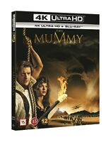 The Mummy (1999) 4K UHD + Blu Ray (Slipcover)