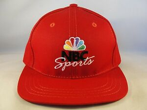 Toddler Size NBC Sports Vintage Snapback Hat Cap American Needle Red