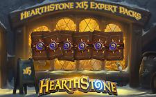 Hearthstone: x15 Expert (Classic) Packs Codes (NA/EU/Asia)