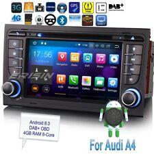 "Audi A4 Autoradio Android 8.0 DAB+ SEAT EXEO S4 RS4 8E 8F B9 B7 TNT GPS 7""7878FR"