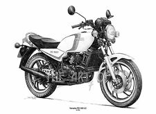 Yamaha RD 350 LC fine art print by Billy