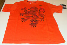 Team Netherlands 2014 World Cup Soccer TD T Shirt Football Youth XS SS Orange
