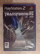 Transformers : Le Jeu pour Sony Playstation 2 (PS2)