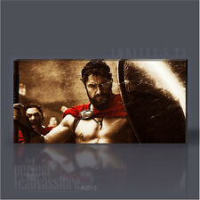 300 SPARTANS ARMY KING LEONIDAS ICONIC CANVAS POP ART PRINT by Art Williams #08