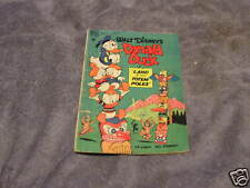 Walt Disney's Donald Duck Land Totem Poles Dell 1949