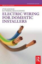 [ ELECTRIC WIRING FOR DOMESTIC INSTALLERS BY SCADDAN, BRIAN](AUTHOR)PAPERBACK, A