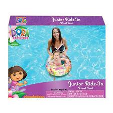 DORA THE EXPLORER JUNIOR RIDE IN BABY SWIM RING TUBE POOL FLOAT SEAT BOAT 0-3