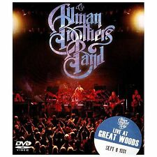 Allman Brothers Band, The - Live at Great Woods (DVD, 2014, Super Jewel Plus)
