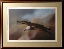 """Frank Howell """"The Grace of An Eagle"""" H.Signed has dedication """"Becky&Steve"""""""