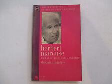 Herbert Marcuse An Exposition And A Polemic Alasdair Macintyre paperback FN-