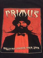 Vintage Primus hallucino genetics Tour Tee Shirt 2004 / Authentic Punk Rock