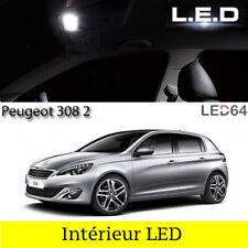 Kit ampoules à LED pour l'éclairage intérieur habitacle blanc Peugeot 308 II