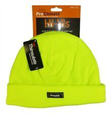 Homme Haute Visibilité Thermique Bonnet Laine Polaire,3M Thinsulate Chapeaux,