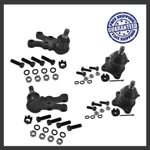 Suspension Kit 2x Upper, 2x Lower Ball Joint For 97-04 Mitsubishi Montero Sport