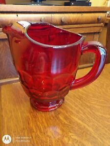 Viking Ruby Red 2 Qt Pitcher