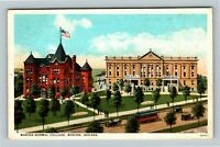 Marion IN, Marion Normal College, Vintage Indiana Postcard