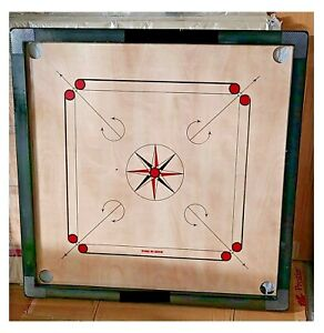 Sale-Premium Quality Carrom Board- 82cm (32 x 32 In)Large Full Size Water Proof