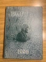 Vintage Bwana 1956 Yearbook Roosevelt Yearbook St. Louis Green HC 1950s