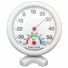 Hygrometer Humidity Thermometer Temp/Temperature Meter ED