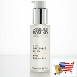 Skin Whitening Fluid Uv Protection Natural Beauty 1.69floz 50ml AnneMarie Borlin