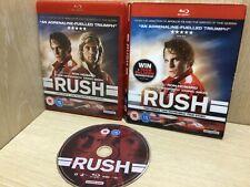 Rush Blu Ray region 2 VGC with holographic  Slipcase