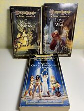 DragonLance Tales Trilogy Book Lot Vol 1,2,3 Weis and Hickman 8314 8315 8316