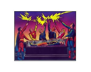 Legion of Superheroes Lightning Lad Lives! Silver Age style DC Comics sericel