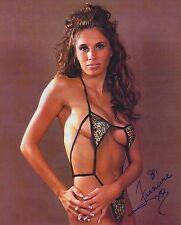 Francine autographed 8x10 ECW WWE TNA Free Shipping #5 Leopard Bikini
