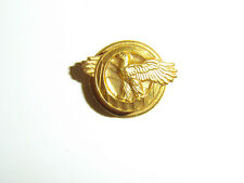 b0438 WW2 US Army & Air Force Military Discharge Pin Ruptured Duck A10B12