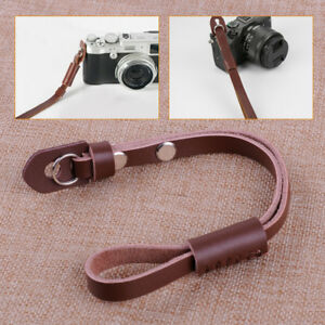 Synthetic Leather Camera Hand Wrist Strap fit for Digital Canon Nikon Sony ILDC