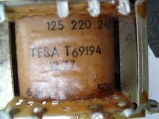 TRANSFO ALIMENTATION TUBE TESA T69194 VINTAGE - AMPLI RADIO KIT DIY OSCILLOSCOPE